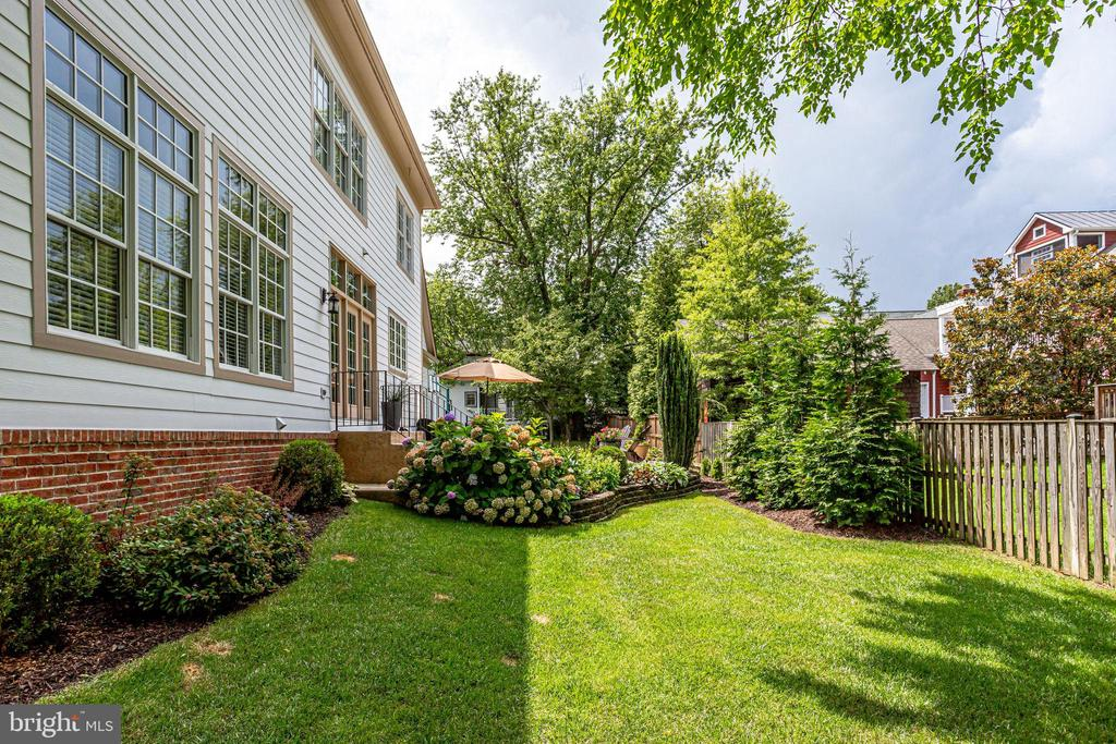 Lots of room to throw a ball around - 904 LOCUST ST, HERNDON