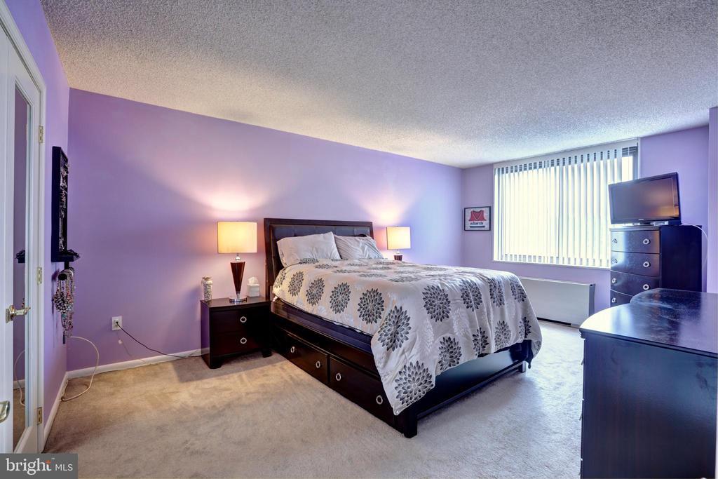 Master bedroom - 3701 S GEORGE MASON DR #409N, FALLS CHURCH
