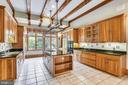 Enormous kitchen with two refrigerators - 69 TWIN POST LN, HUNTLY