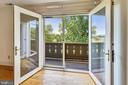 Second Bedroom opens to balcony - 69 TWIN POST LN, HUNTLY