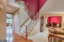 Foyer view - 43435 MINK MEADOWS ST, CHANTILLY