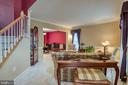 Formal Living Room - 43435 MINK MEADOWS ST, CHANTILLY