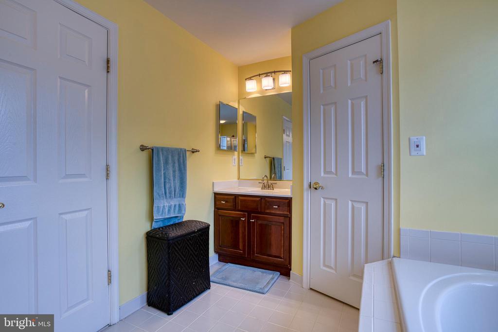 Owner's suite bath - 43435 MINK MEADOWS ST, CHANTILLY