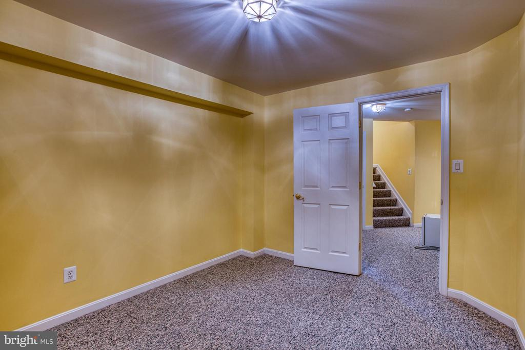 Lower level Separate room (bedroom NTC) - 43435 MINK MEADOWS ST, CHANTILLY