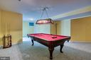 Game room - 43435 MINK MEADOWS ST, CHANTILLY