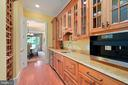 prep kitchen, coffee bar and wine storage - 11215 KINSALE CT, ELLICOTT CITY
