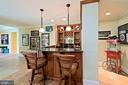 built in bar - 11215 KINSALE CT, ELLICOTT CITY