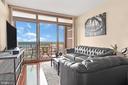 Floor to ceiling windows - 888 N QUINCY ST #1506, ARLINGTON