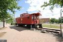 Historic train car in downtown Herndon - 840 ELDEN ST, HERNDON