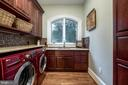 Laundry room (same floor as master) - 15330 RIDING CLUB DR, HAYMARKET