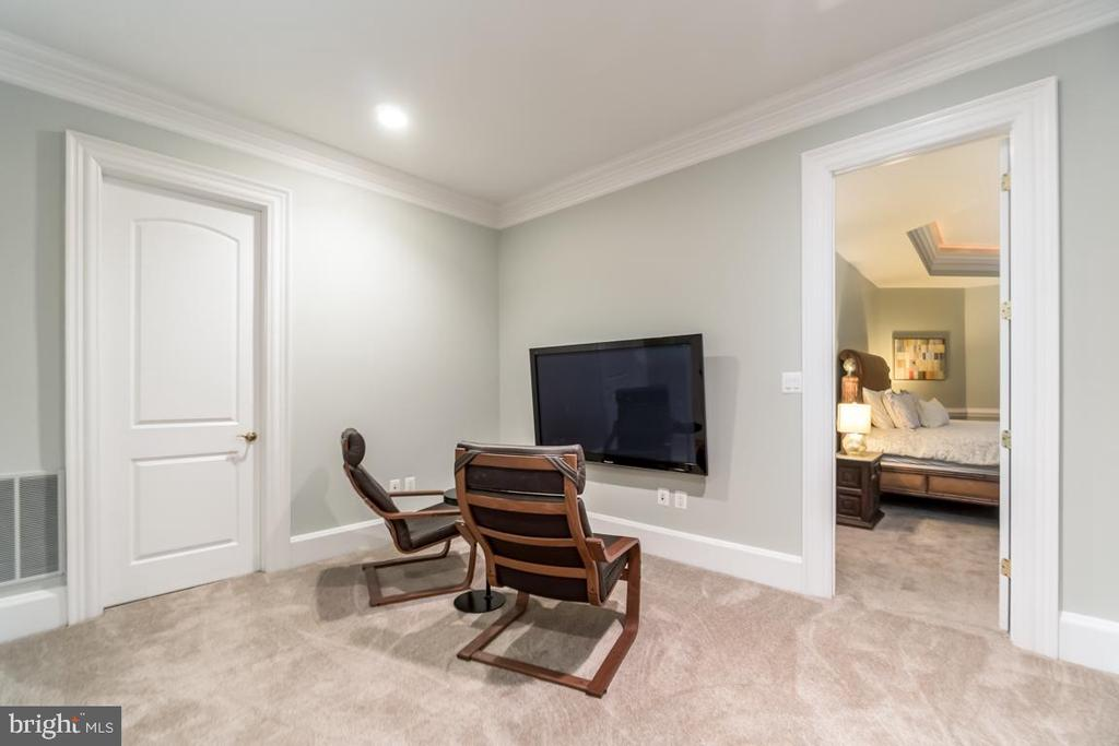 Basement game room - 15330 RIDING CLUB DR, HAYMARKET