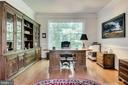 Main level  Library/Study with beautiful  finishes - 3720 SPICEWOOD DR, ANNANDALE