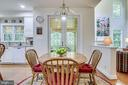 Screened Deck adjoins Kitchen through French Doors - 3720 SPICEWOOD DR, ANNANDALE