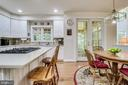 Island with Seating - 3720 SPICEWOOD DR, ANNANDALE