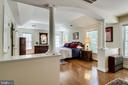 Two large closets in Master Bedroom - 3720 SPICEWOOD DR, ANNANDALE