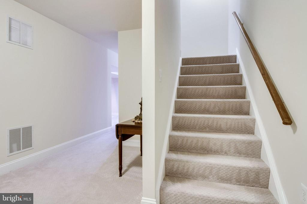 Carpeted lower level - 3720 SPICEWOOD DR, ANNANDALE