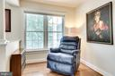 Sitting area in Master Suite - 3720 SPICEWOOD DR, ANNANDALE