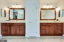 Dual Vanities w/ Quartz counters - 3720 SPICEWOOD DR, ANNANDALE