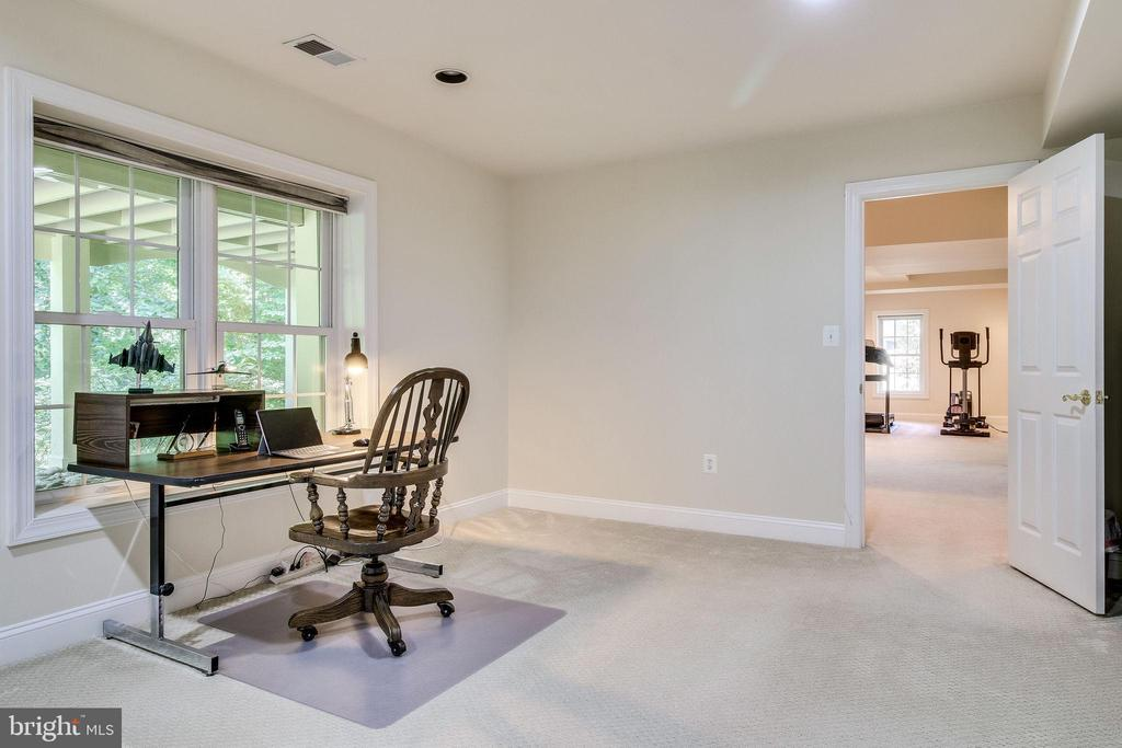 5th Bedroom off Recreation Room - 3720 SPICEWOOD DR, ANNANDALE