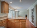 Kitchen with new Marble Counter Tops - 103 ENGLISH CT SW, LEESBURG