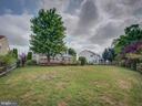 Rear Backyard - 103 ENGLISH CT SW, LEESBURG