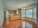 View of Kitchen from Family Room - 103 ENGLISH CT SW, LEESBURG