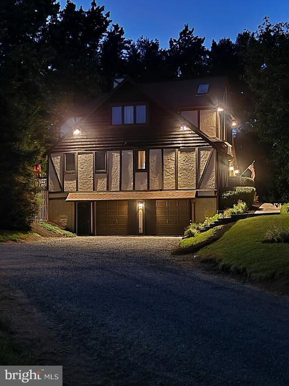 Exterior Night Side Photo of Home - 1676 LOUDOUN DR, HAYMARKET