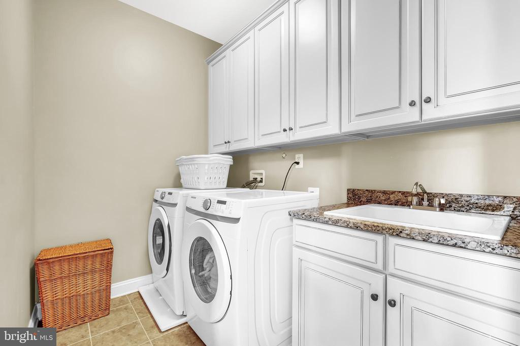 Laundry Room - 18348 CHELSEA KNOLLS DR, MOUNT AIRY