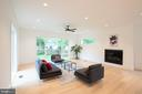 Great room is a peninsula - windows on 3-sides! - 110 TAPAWINGO RD SW, VIENNA