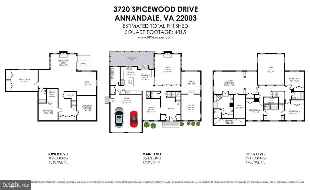 Floorplan - 3720 SPICEWOOD DR, ANNANDALE