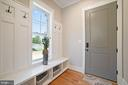 Mud Room with cubbies and entry closet/ - 5631 SOUTHAMPTON DR, SPRINGFIELD