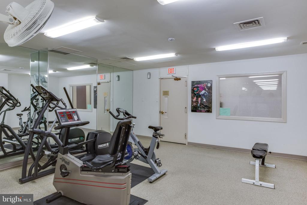 No Need to pay extra for the gym membership - 3705 S GEORGE MASON DR #702S, FALLS CHURCH