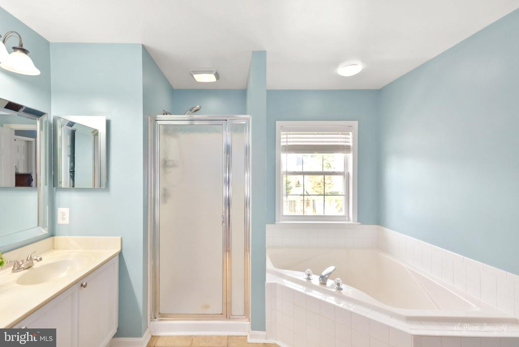 Owners  bath with soaking tub - 62 PLEASANT ACRES DR, THURMONT