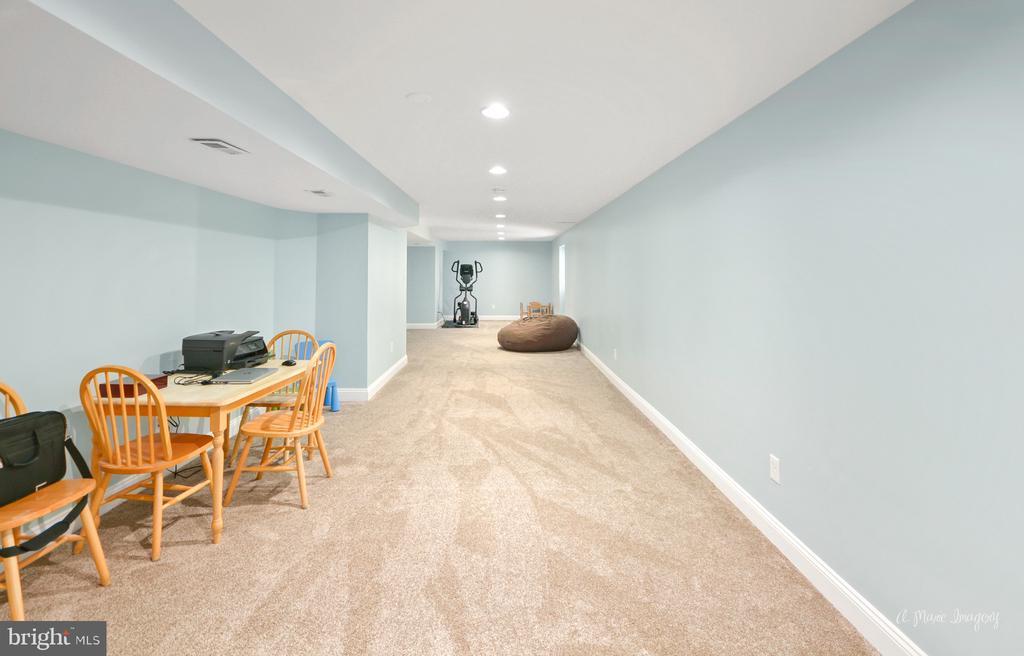 Lower level family room - 62 PLEASANT ACRES DR, THURMONT