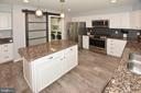 Super Cool Trendy Barn Doors on Pantry - 20418 ROSEMALLOW CT, STERLING
