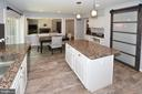 Updated tile floors in kitchen (2018) - 20418 ROSEMALLOW CT, STERLING