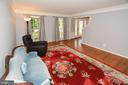 Living room with hardwood floors - 20418 ROSEMALLOW CT, STERLING