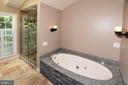 Stunning Master Bath Separate Shower - 20418 ROSEMALLOW CT, STERLING
