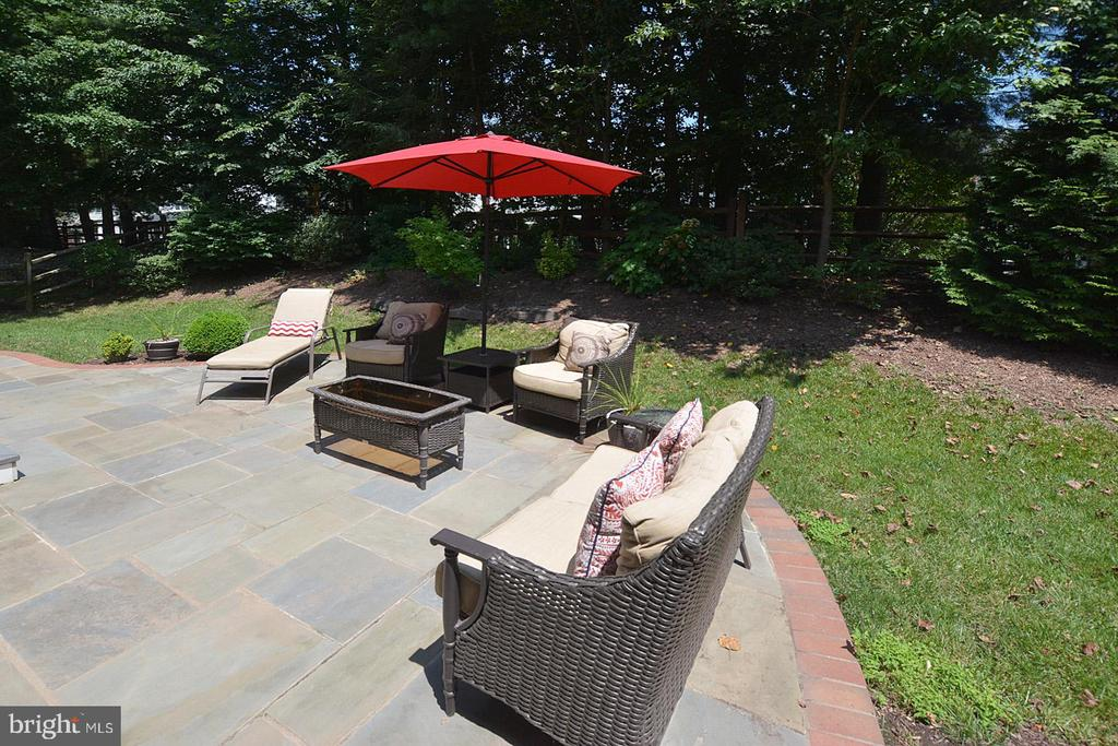 Flag stone patio off  Kitchen - 20418 ROSEMALLOW CT, STERLING
