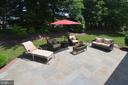Quiet and Private Flagstone Patio - 20418 ROSEMALLOW CT, STERLING