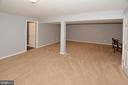 Game room area in Recreation Room - 20418 ROSEMALLOW CT, STERLING