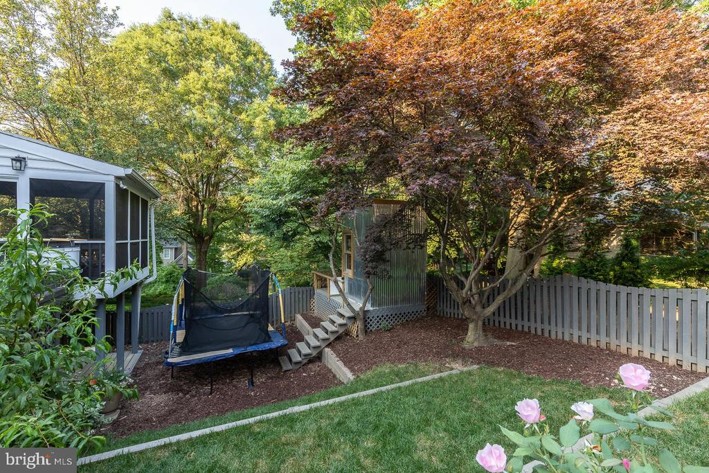Expansive backyard - 4025 N ABERDEEN ST, ARLINGTON