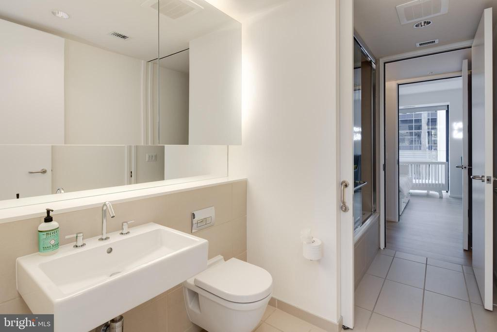 Second bathroom (jack and jill to LR/2nd BR) - 920 I ST NW #715, WASHINGTON