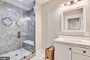 Lower level bedroom #7 bathroom - 14612 BRISTOW RD, MANASSAS