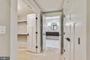 Lower level bedroom #6 closet - 14612 BRISTOW RD, MANASSAS