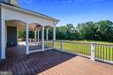 Back deck is incredible - 14612 BRISTOW RD, MANASSAS