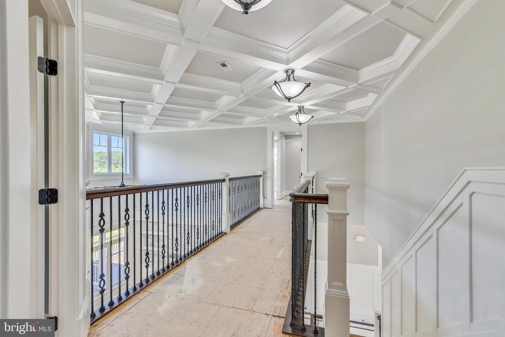 You have four bedrooms upstairs - 14612 BRISTOW RD, MANASSAS