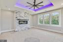 Another view of second floor master - 14612 BRISTOW RD, MANASSAS