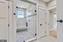 Shower in bedroom #5 - 14612 BRISTOW RD, MANASSAS
