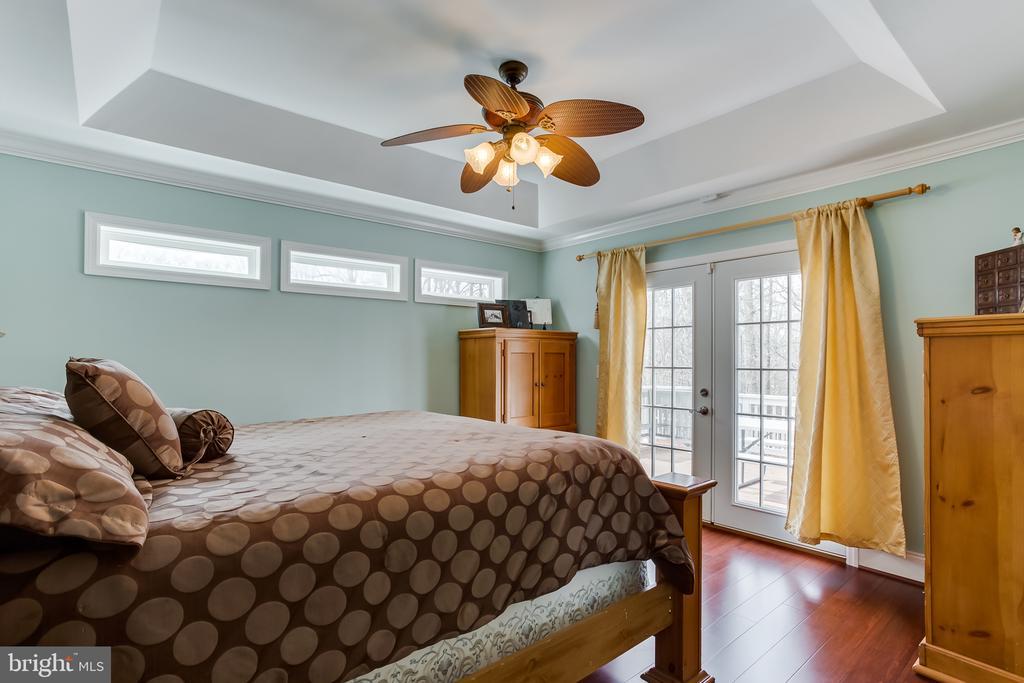 Main Level : Master Bedroom - 59 GLACIER WAY, STAFFORD